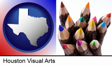 colored pencils in Houston, TX