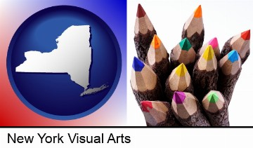 colored pencils in New York, NY